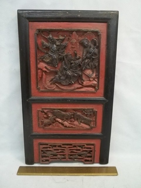 Antique China Temple Carving