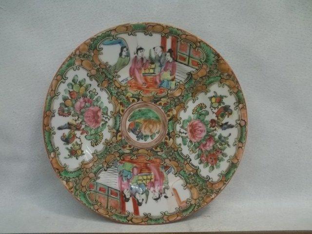 Oriental Plate 7 1/2