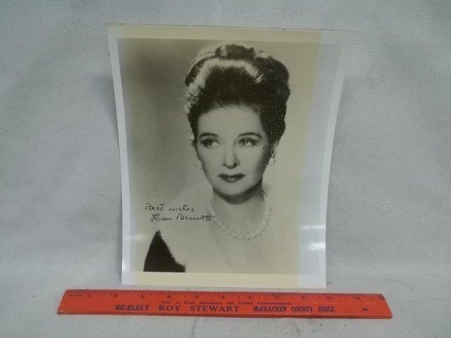 Joan Bennett Little Women Autograph Photo