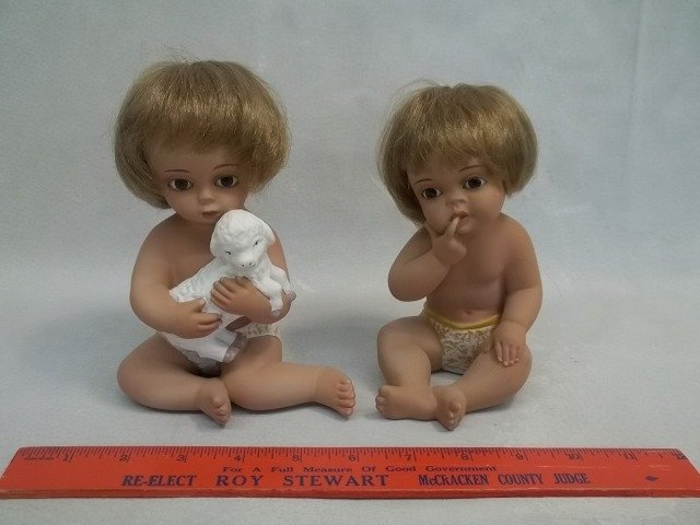 2 Made In Spain Baby Figures