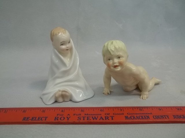 Royal Doulton Royal Worcester Baby Figurines
