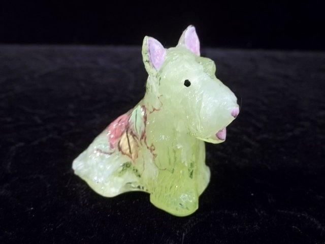 HP Signed Vaseline Scotty Dog Figurine