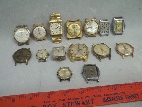 Old Watch Lot No Bands