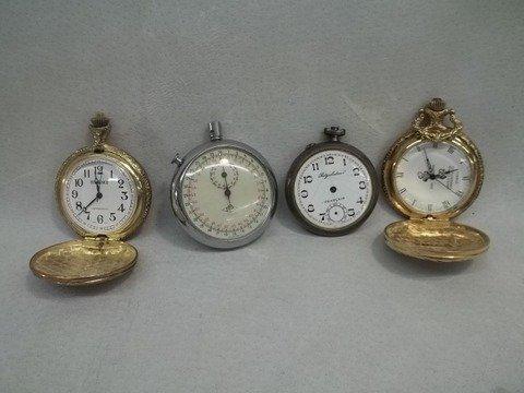 Modern & Old Pocket Watch Lot AS IS