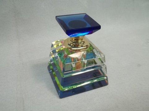 Cobalt Blue Prismatic Crystal Perfume