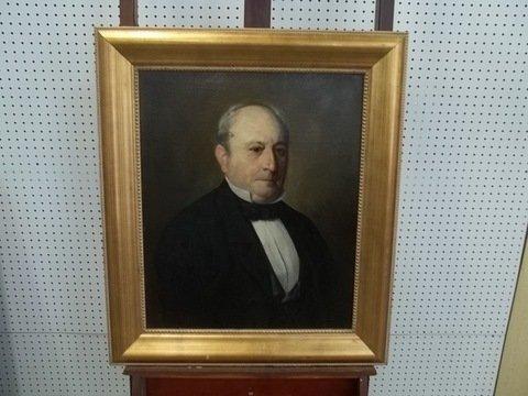 Vigiuiera 1899 Oil On Canvas Portrait Nice