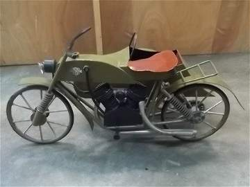 Harley Davidson Old Prison Art Motorcycle Toy 38 Inch