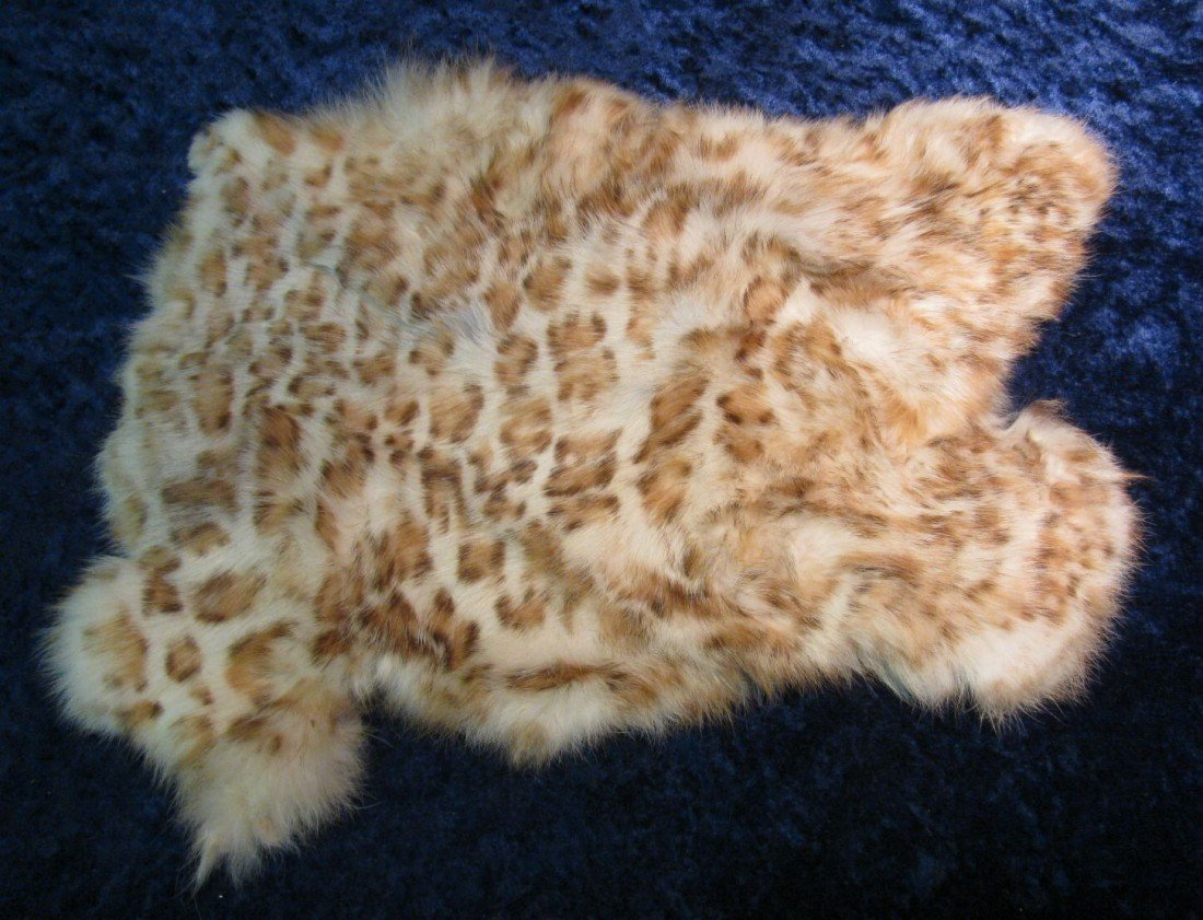7. Died and tanned Rabbit Hide. Imported from China.