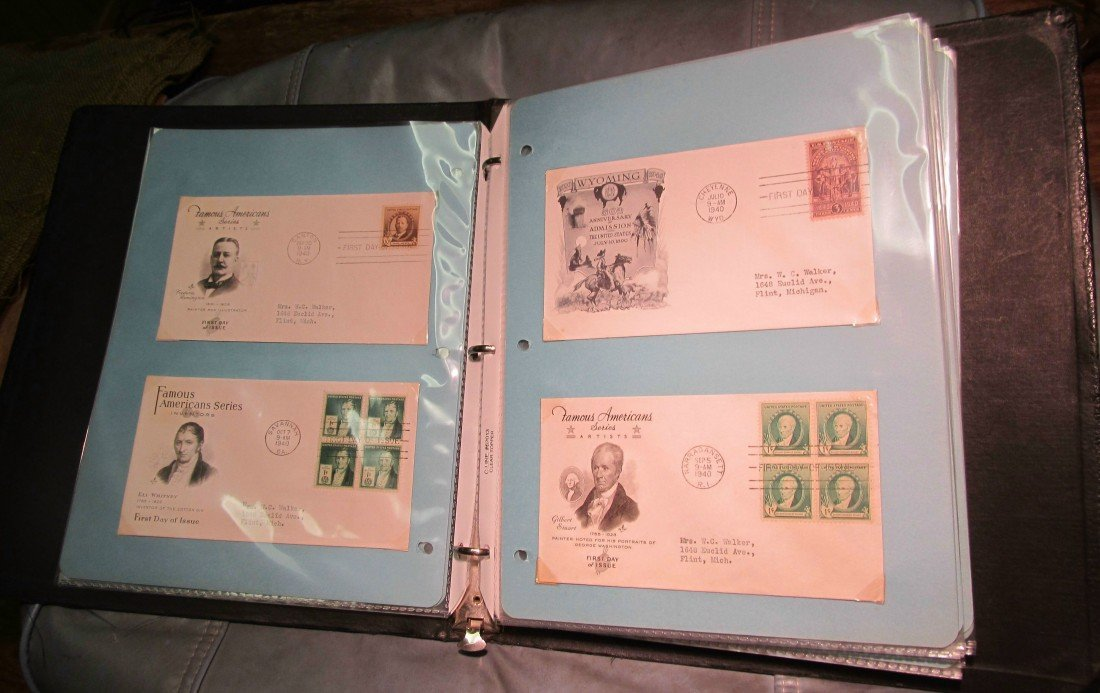 802. (89) First Day Covers 1938-1948
