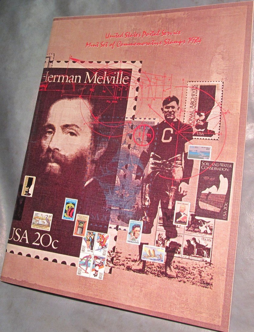 804. 1984 Commemorative Stamp Year Set. With Stamps.