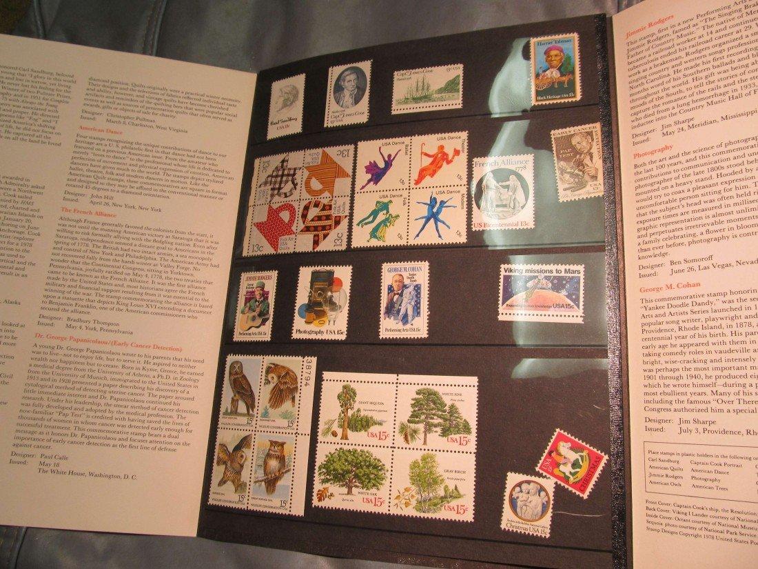 811. 1978 Commemorative Stamp Year Set.