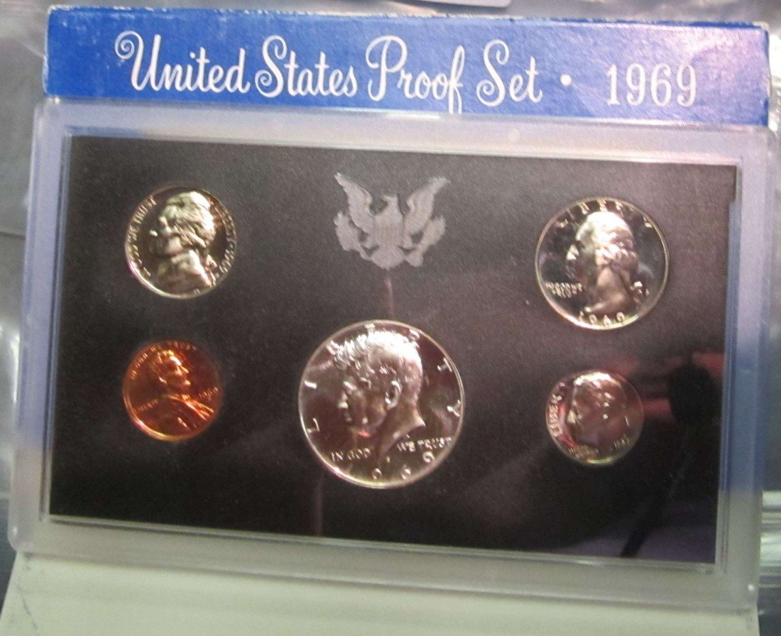 823. 1969S US Proof Set. Original as Issued.
