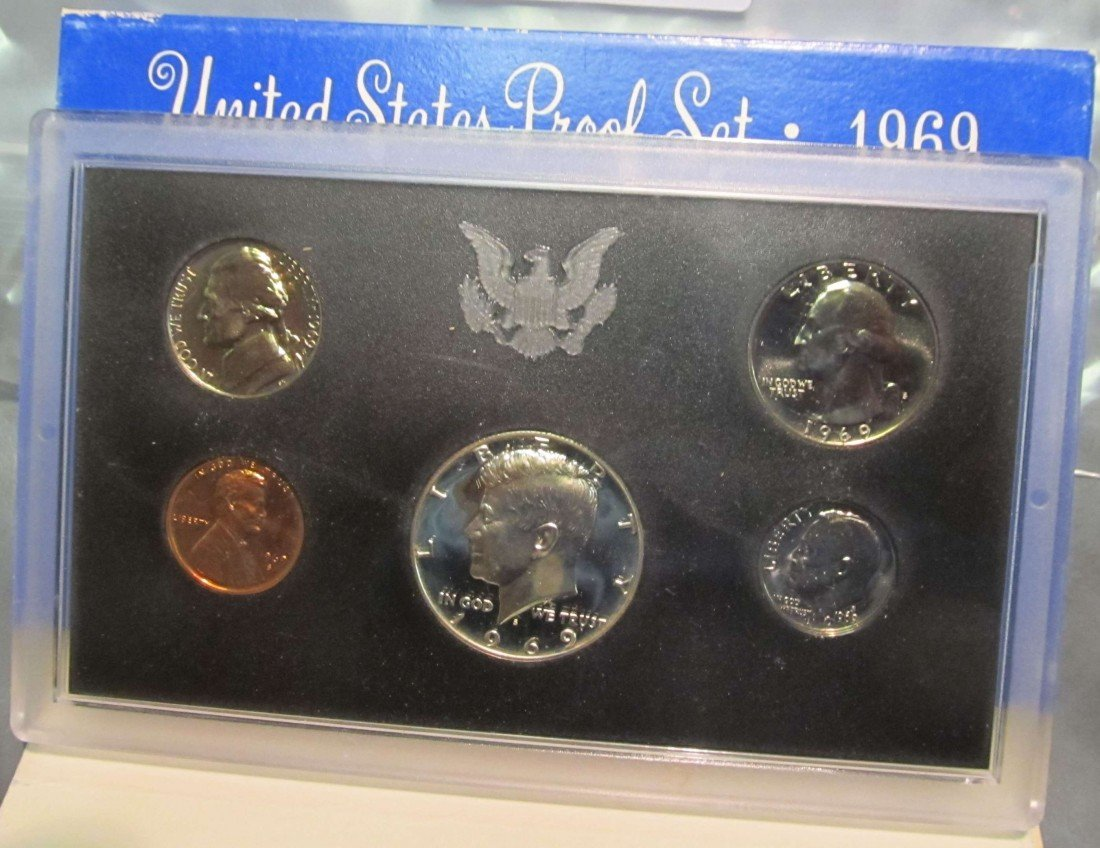 824. 1969S US Proof Set. Original as Issued.