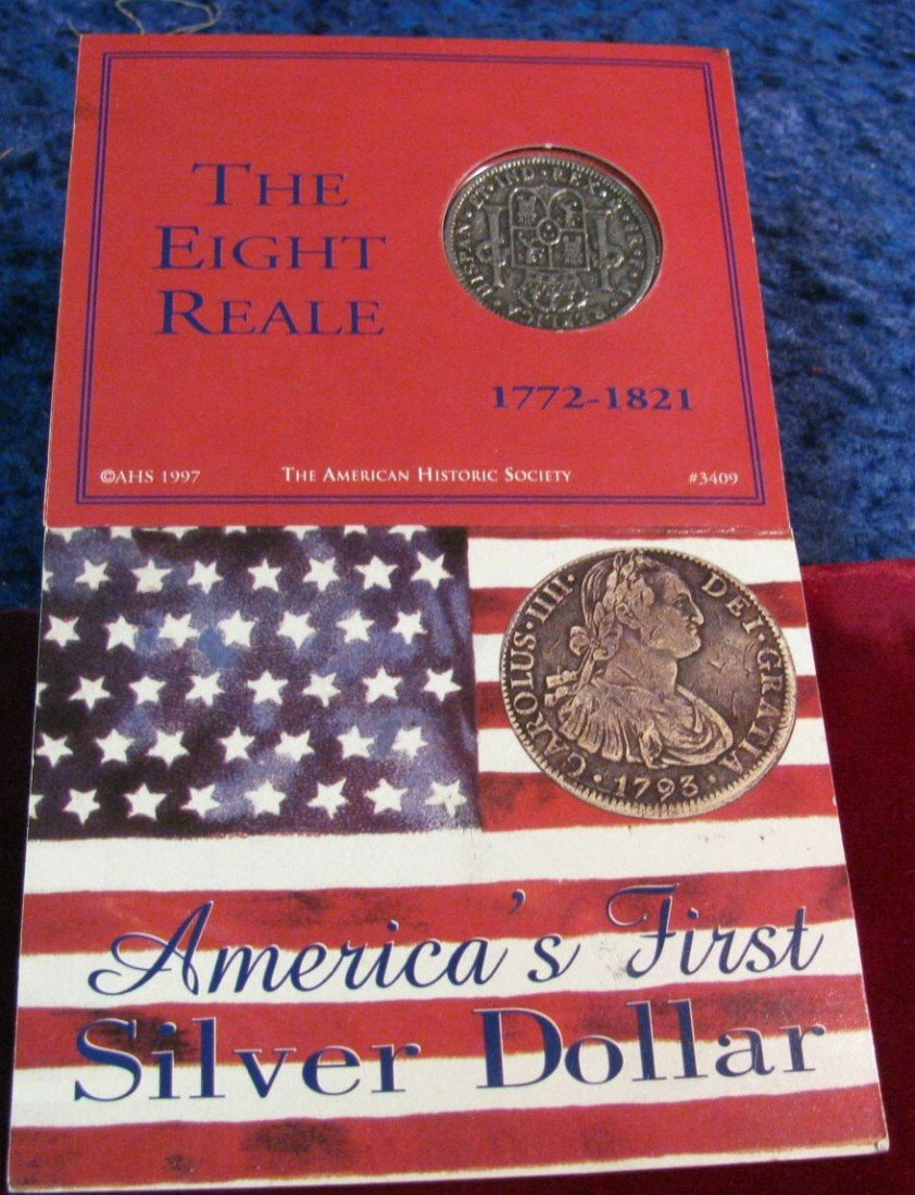 """330. 1772-1821 """"America's First Silver Dollar"""" Reproduc - 2"""