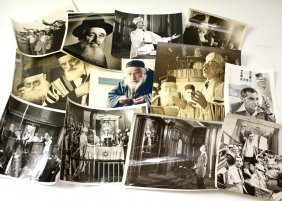 A COLLECTION OF 12 JUDAIC PHOTOGRAPHS. Mostly American,
