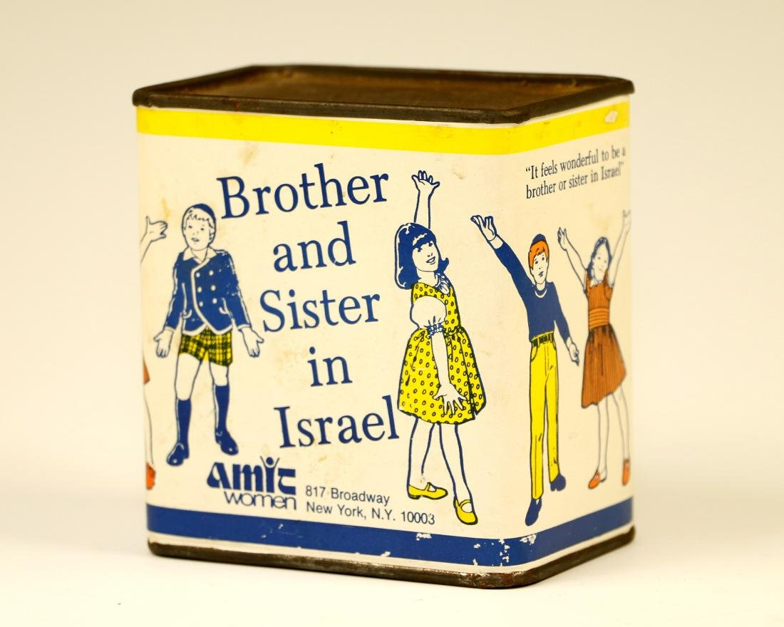 72. A RARE CHARITY BOX. American, c. 1950. Collecting