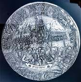 A STERLING SILVER PLAQUE BY HENRYK WINOGRAD. New York,