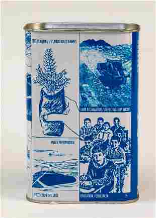 A JNF CHARITY BOX Canada c 1980 Decorated with the