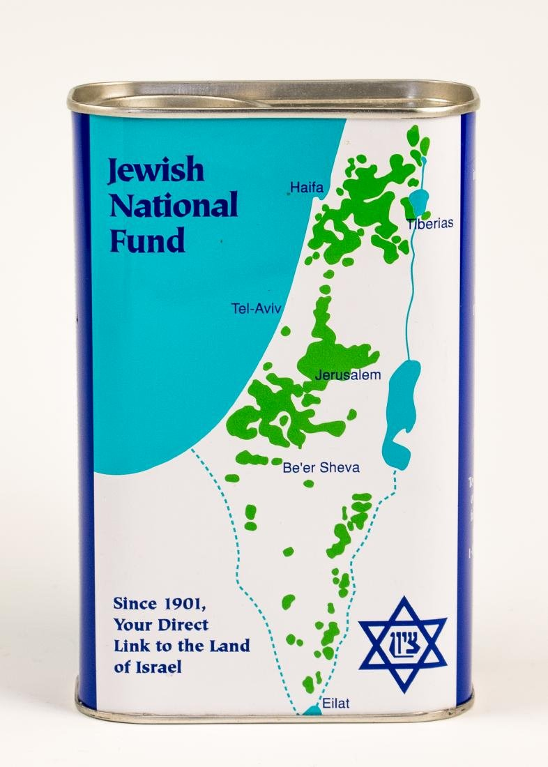 A JNF COLLECTION BOX. Israel, 2003. Collector's