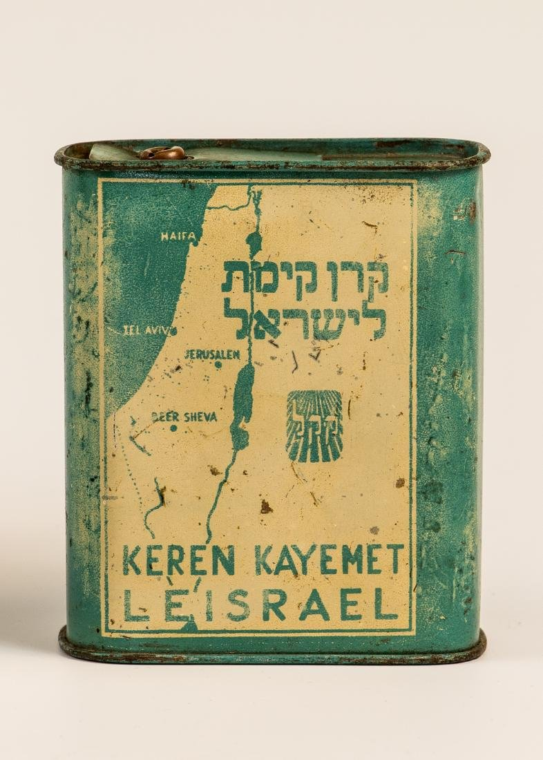 AN EARLY JNF CHARITY BOX. Probably France, c. 1930.