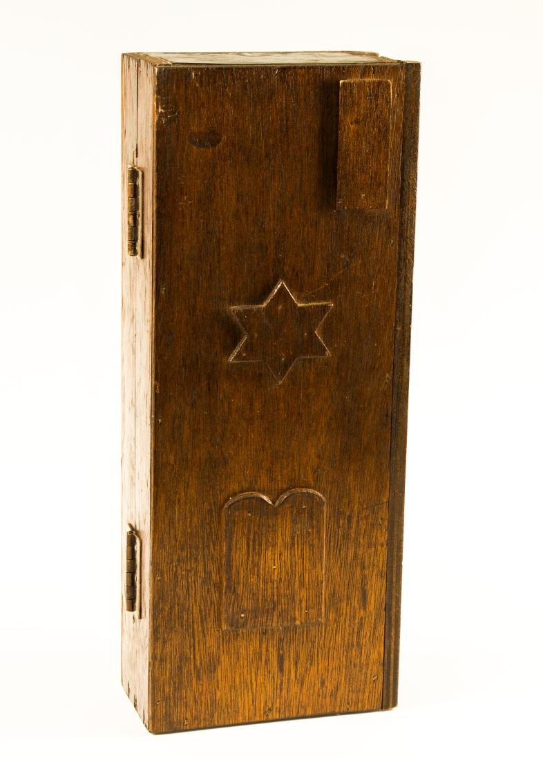 A TRAVELING TORAH ARK. American, c. 1930. Created to