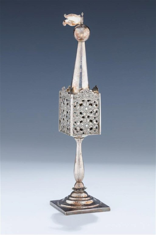 AN IMPORTANT SILVER SPICE CONTAINER  Poland or Germany,