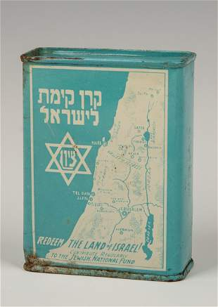 . A JNF/KKL CHARITY CONTAINER. United States, c.