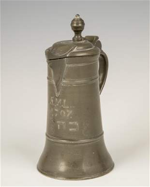 12 A PEWTER COVERED URN Germany Traditional design