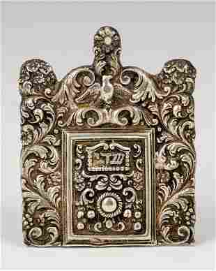 . A SOLID SILVER AMULET HOLDER. Probably Italy, 20th