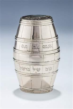 A RARE AND IMPORTANT PAIR OF BRIS CUPS Hamburg 1822