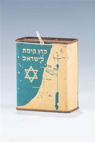 AN EARLY JNF COLLECTION BOX. London, c.1935. The