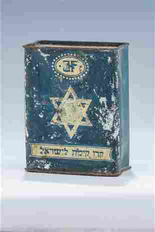 A RARE AND IMPORTANT JNF COLLECTION BOX. Germany c1915