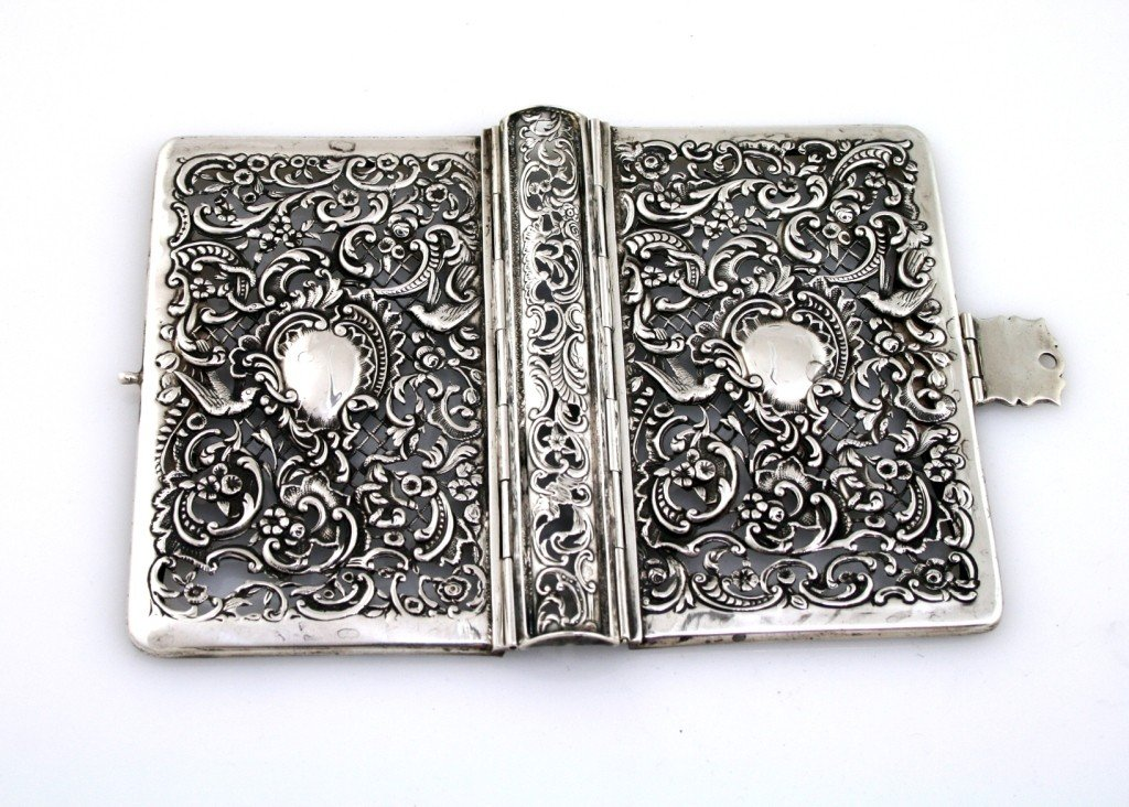 25: A SILVER PLATED BINDING. Possibly the Netherlands,