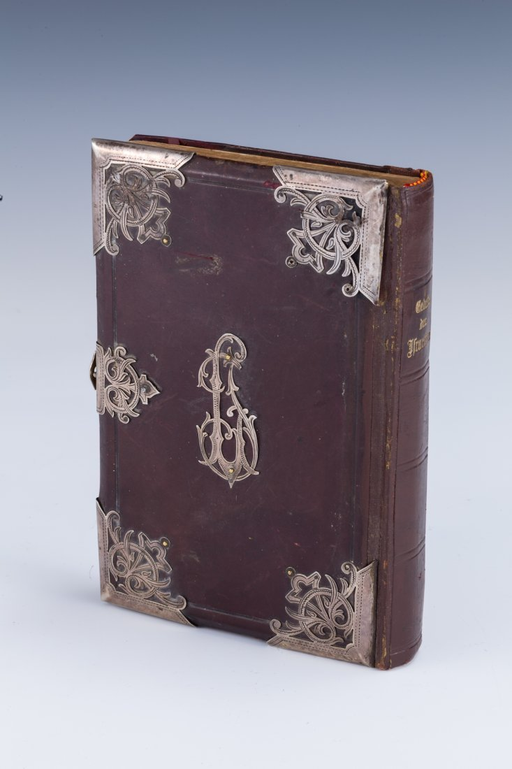 2: A SILVER AND LEATHER BOUND PRAYER BOOK. Vienna, 1904