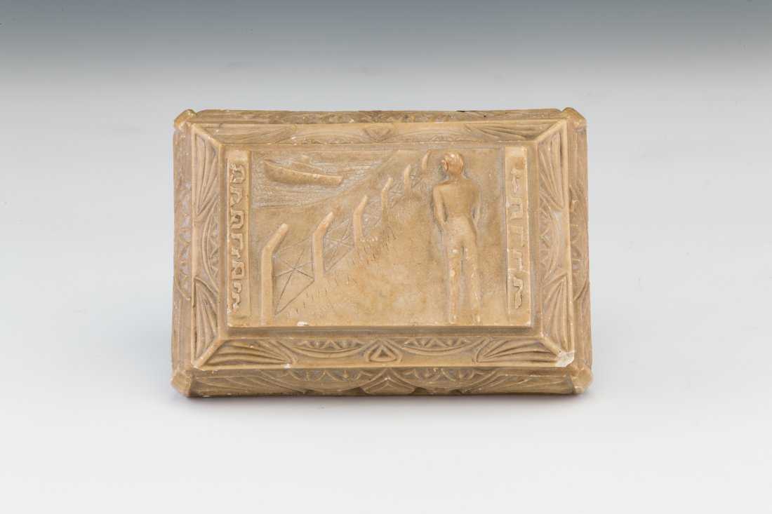 14:  A LIMESTONE BOX FROM THE CYPRUS DISPLACED PERSONS