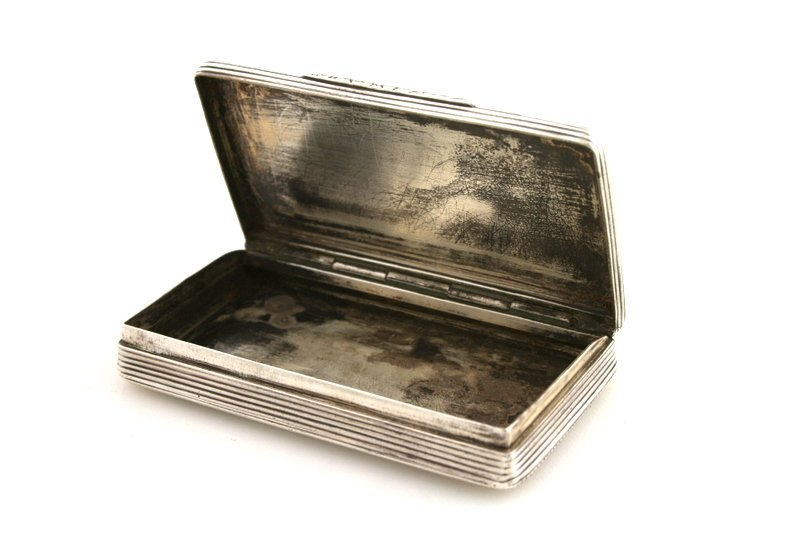 11: A SILVER TOBACCO BOX. France, c. 1900. - 2