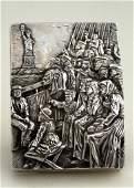 "Henryk Winograd ""The Immigrants Coming to Ellis Island"