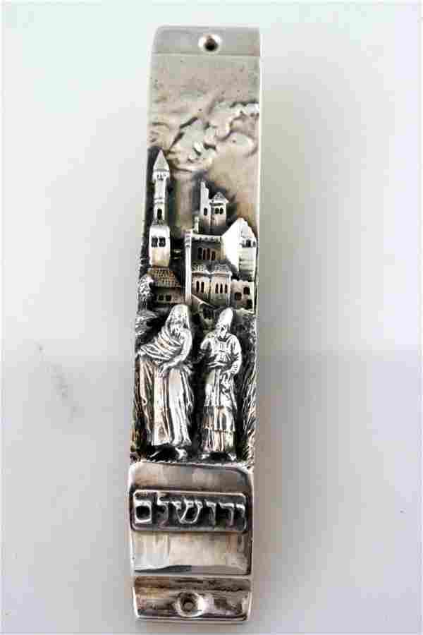 A STERLING SILVER MEZUZAH BY HENRYK WINOGRAD. New York,
