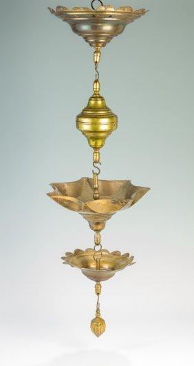 A Massive Brass Judenstern. Probably Dutch, 19th