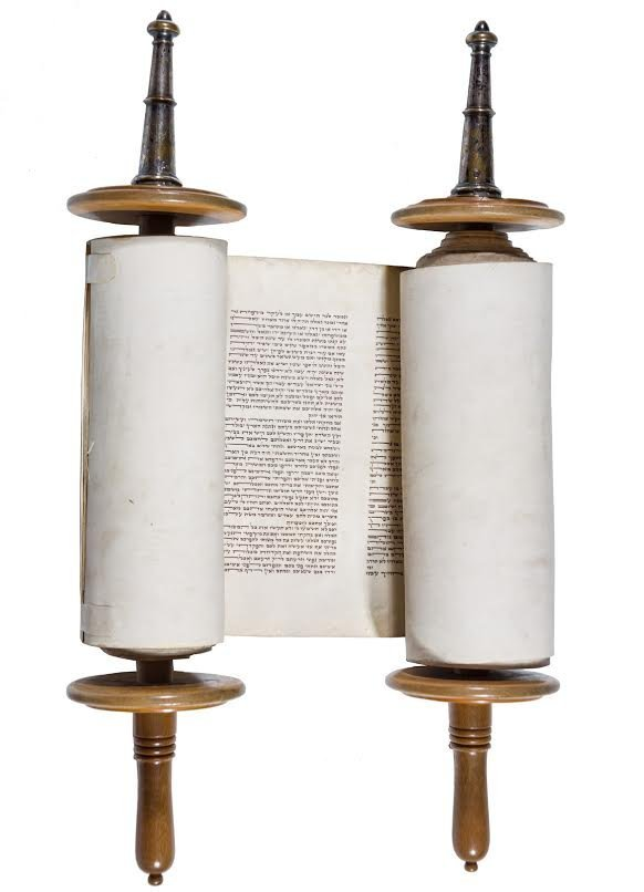AN EARLY SEFER TORAH. Probably Poland, c. 1880. In
