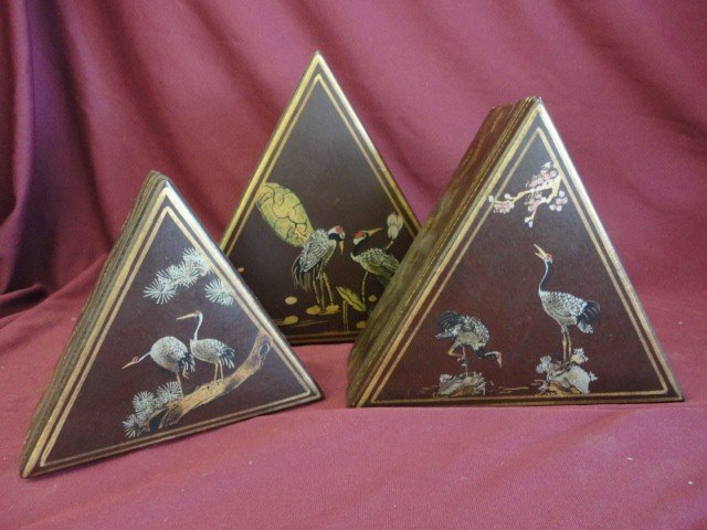 1014: Nesting Boxes, 3, Triangle, Herring Decorations,