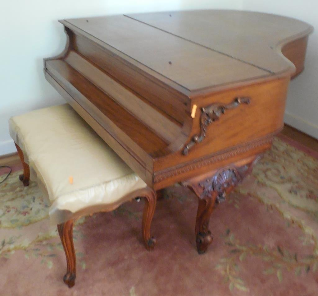 Steinway sons parlor grand piano