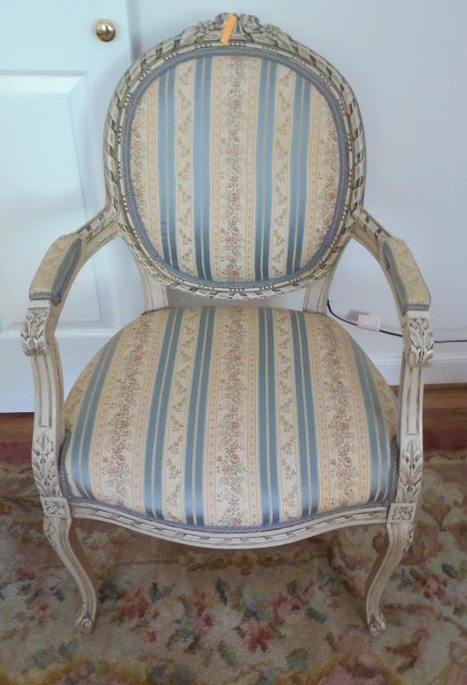 French Open Arm Chair