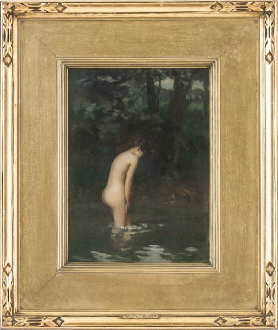 "IRVING RAMSEY WILES: ""THE BATHER"""