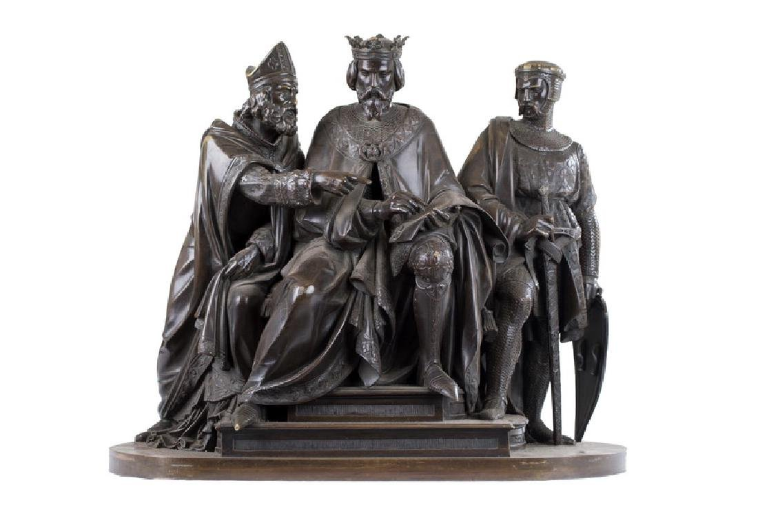 """FRANCOIS THEODORE DEVAULX: """"THE SIGNING OF THE MAGNA"""