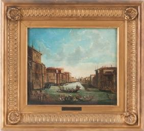 """AFTER CANALETTO: """"VIEW ON GRAND CANAL"""""""