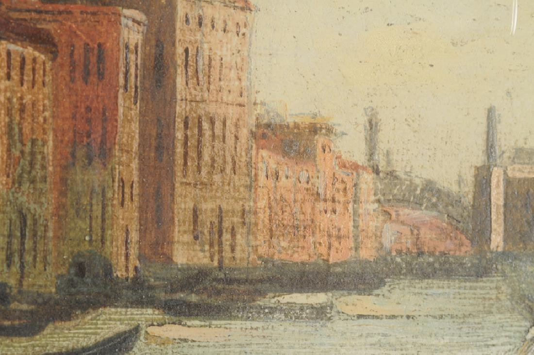 "AFTER CANALETTO: ""VIEW ON GRAND CANAL"" - 8"