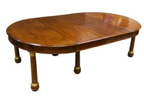 FRENCH EMPIRE STYLE DINING TABLE
