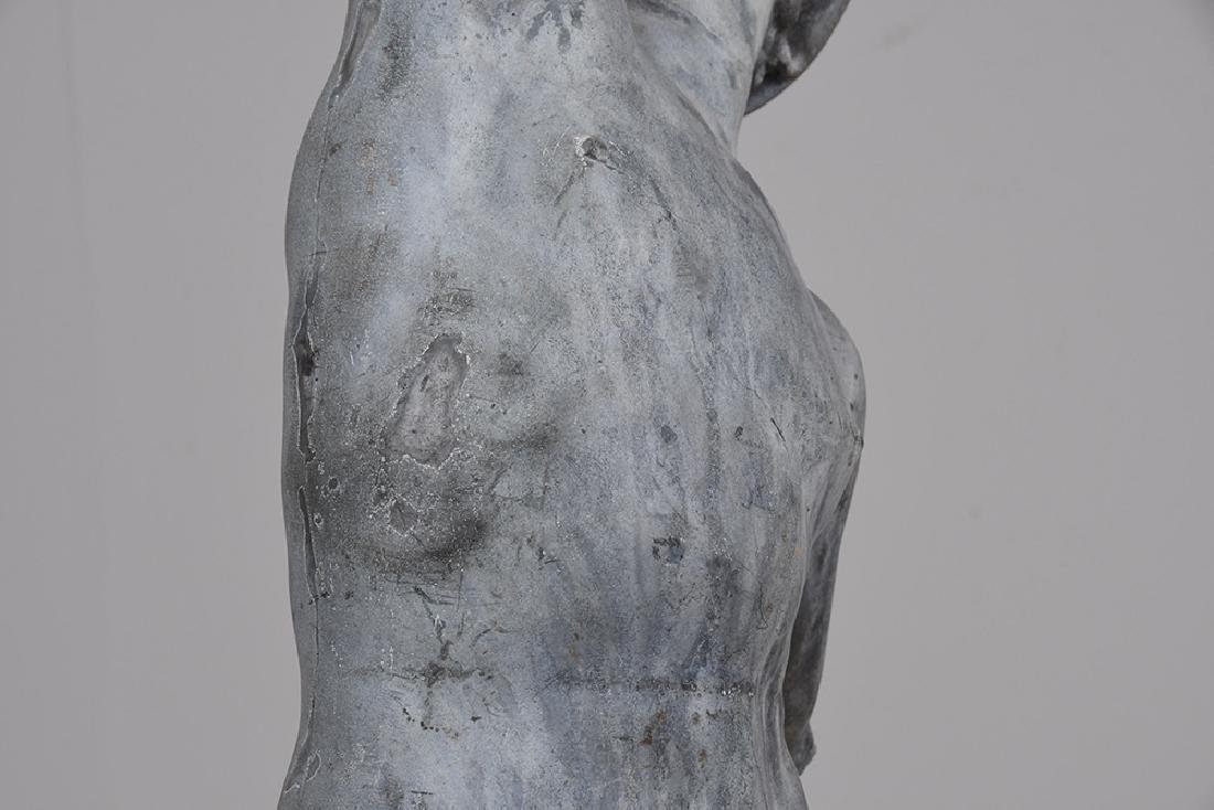 LEAD TORSO FRAGMENT OF MERCURY - 6