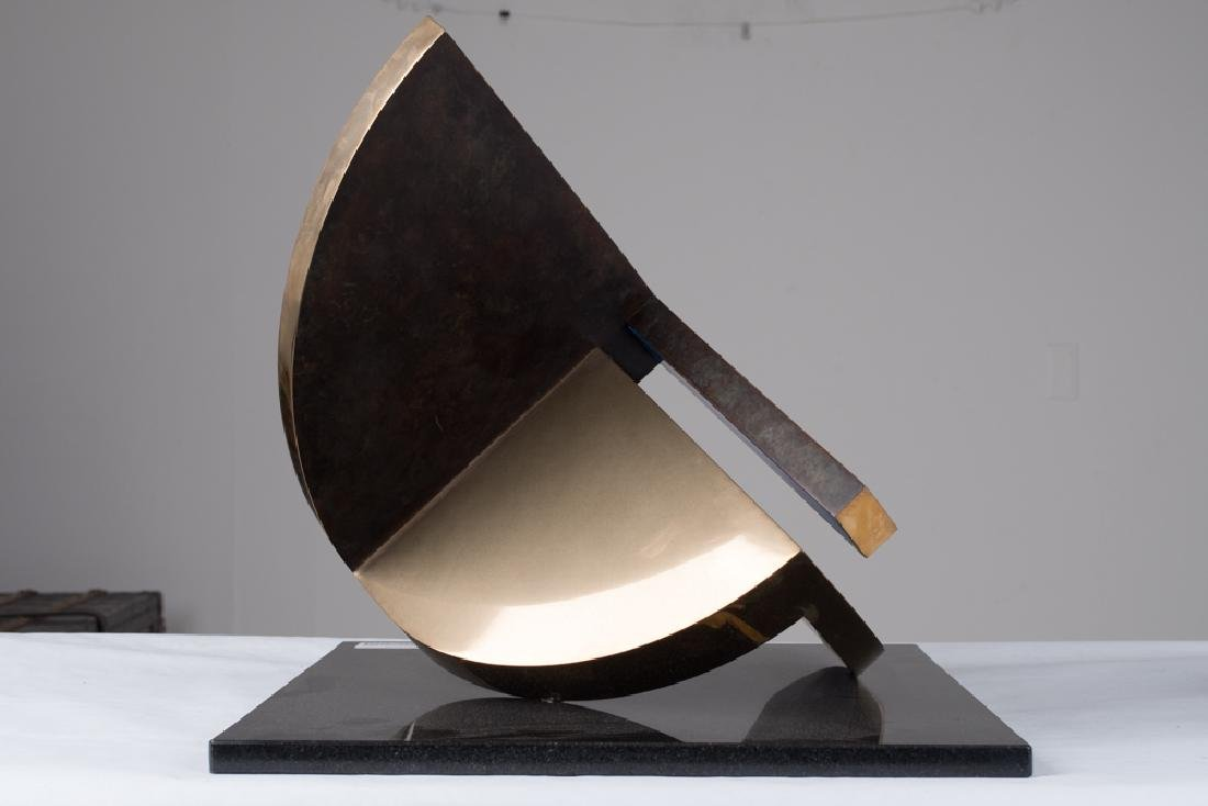"FLETCHER BENTON: ""FOLDED QUARTER CIRCLE"" - 3"